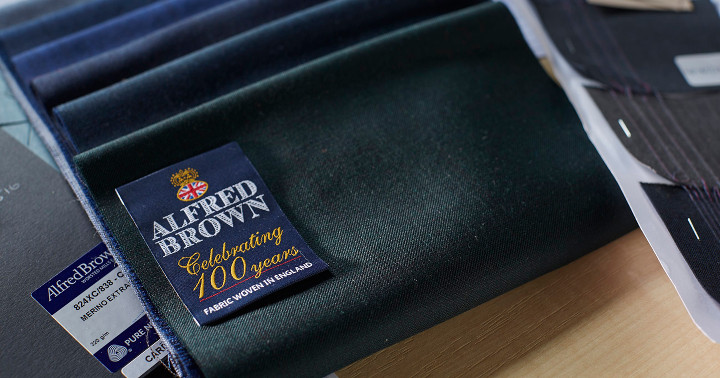 Alfred Brown suit cloth