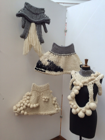 Knitwear from Leeds University School of Design BA (Hons) Textile Design