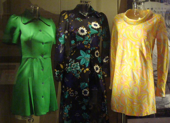 Early synthetic dresses from the Yorkshire Fashion Archive